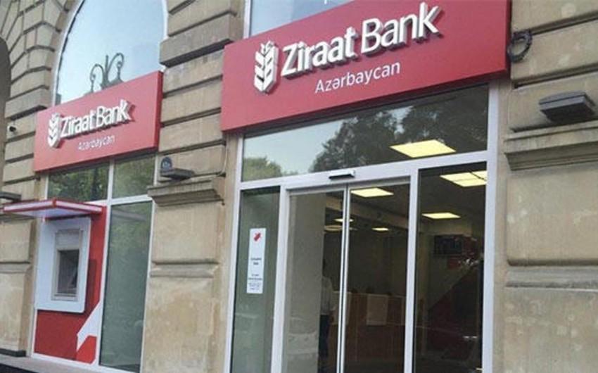 """""""Zıraat Bank Azərbaycan""""ın xalis mənfəəti 88% artıb"""