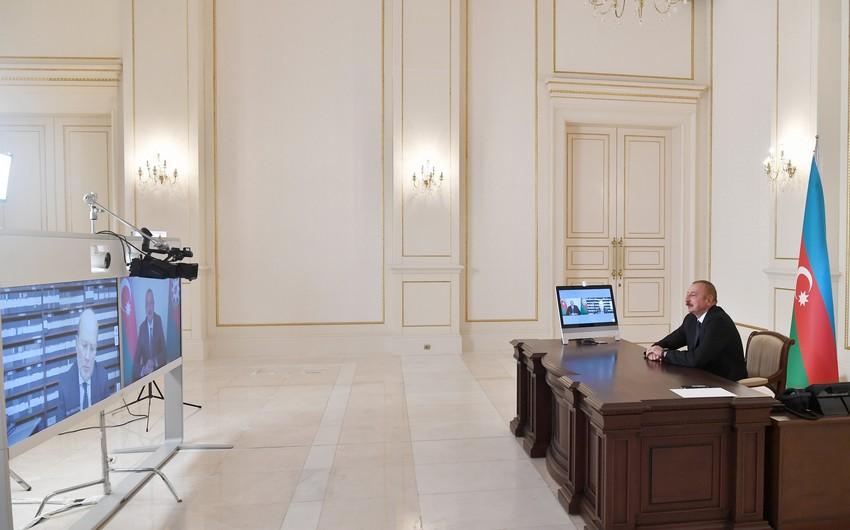 Ilham Aliyev gives interview to Italian Rai-1 TV channel