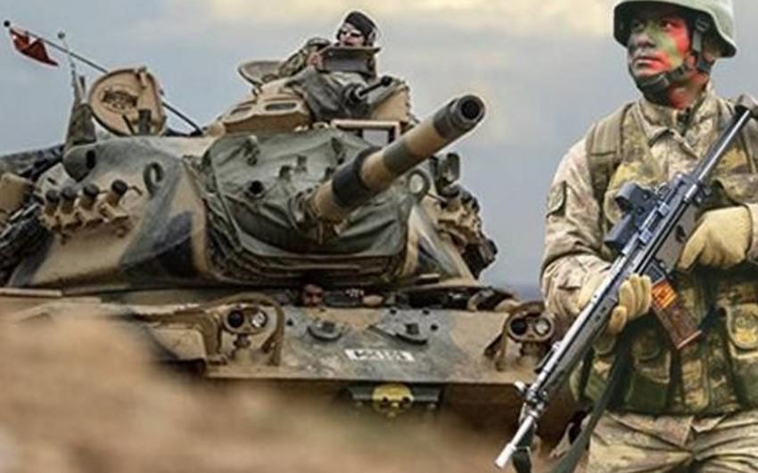 Türkiyə hərbçiləri Suriyada İŞİD-in 272 hədəfini atəşə tutub