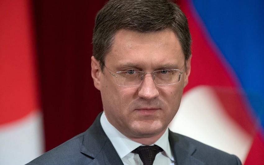 Rusiyanın energetika naziri: Neftin qiymətləri sabitdir