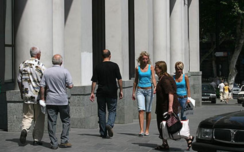 Gürcüstan əhalisinin sayında azalma müşahidə olunur