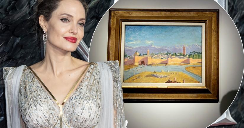 Ancelina Coli Uinston Çerçilin rəsmini 11,5 milyon dollara satdı