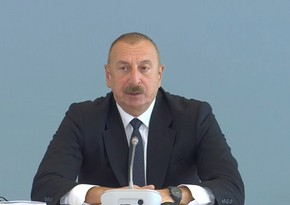 Ilham Aliyev: Armenians did it deliberately in order to erase legacy of Azerbaijani culture