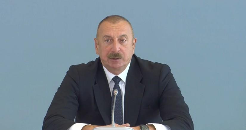 Президент: Целью Армении было уничтожение азербайджанского наследия