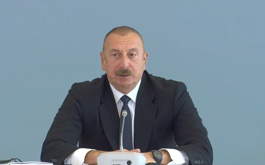 Prezident: Ermənistanın məqsədi Azərbaycan irsini məhv etmək idi