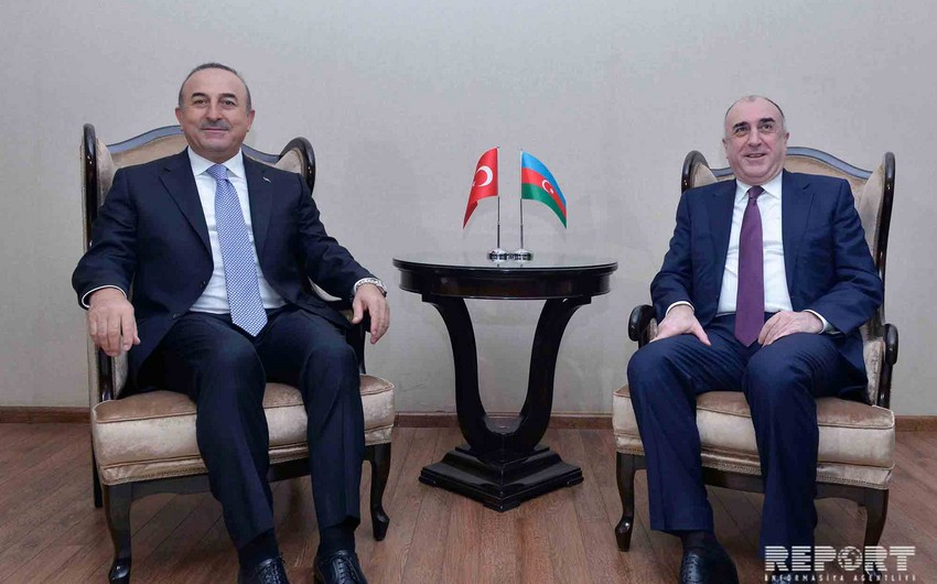 Mammadyarov informs his Turkish counterpart on Karabakh talks