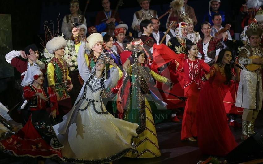 BMT Baş Assambleyasının zalında TÜRKSOY-un təşkil etdiyi konsert keçirilib