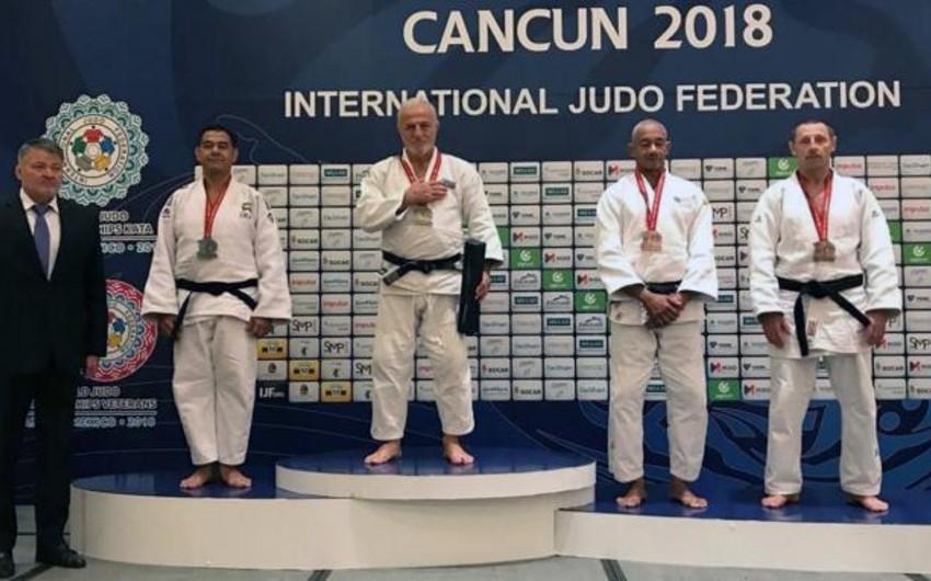 Azərbaycanın veteran cüdoçuları dünya çempionatında daha 3 medal qazanıblar