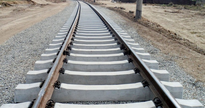 Renewal of Azerbaijan's railway infrastructure begins