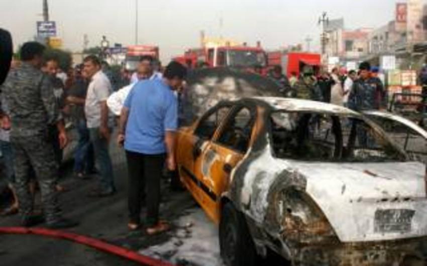Bağdadda terrorçu kamikadze özünü partladıb, 12 nəfər ölüb