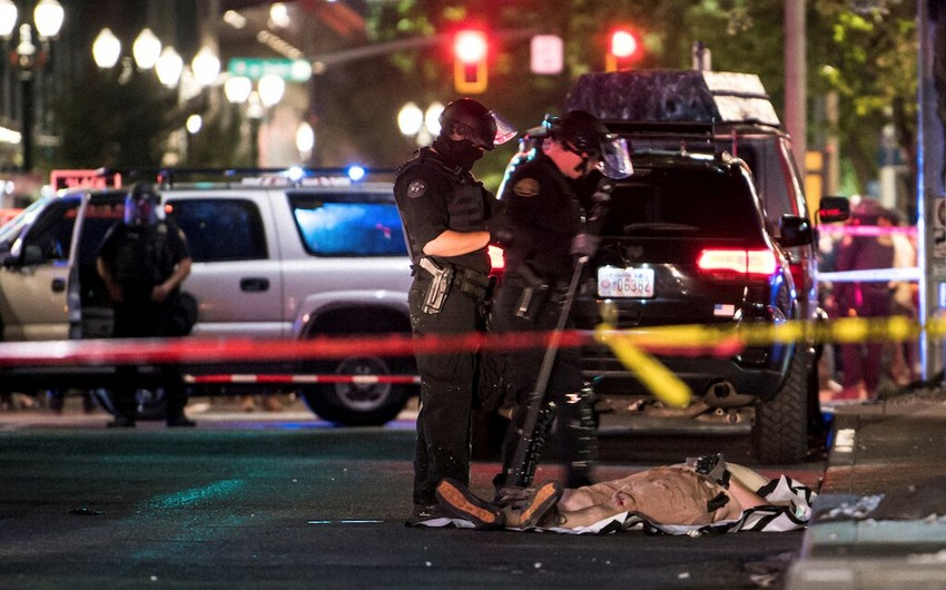 ABŞ-ın Portland şəhərində atışma baş verib, bir polis zabiti yaralanıb