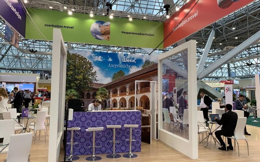 Azərbaycan Moskvada keçirilən turizm sərgisində iştirak edir