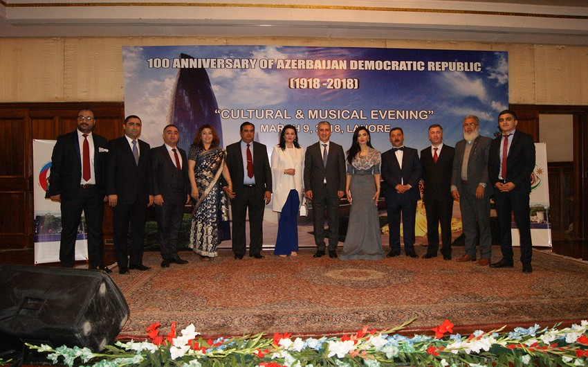 Pakistanda Azərbaycan Xalq Cümhuriyyətinin 100 illik yubileyi qeyd olunub
