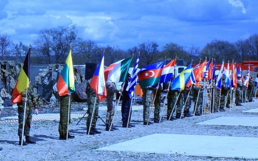 Azərbaycan Ordusunun nümayəndələri NATO-nun təlimində iştirak edib