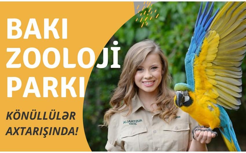 Bakı Zooloji Parkı heyvanları sevən könüllü gənclər axtarır