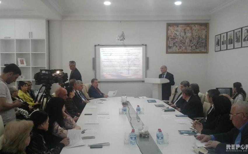 Bakı və Naxçıvan dilçilərinin videogörüntü vasitəsilə respublika konfransı keçirilib