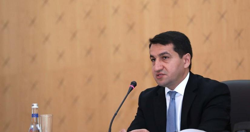 Prezidentin köməkçisindən fransalı jurnalistlə bağlı açıqlama
