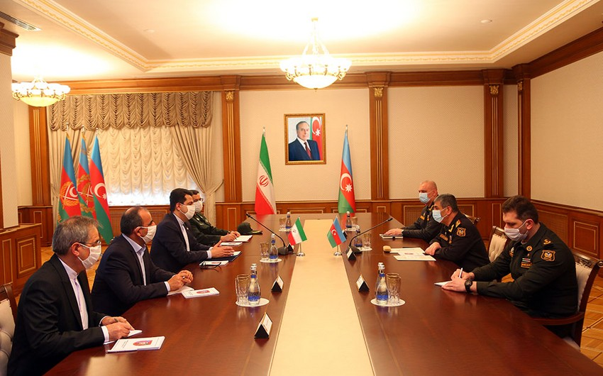 Azerbaijan, Iran moot issues of military-technical cooperation
