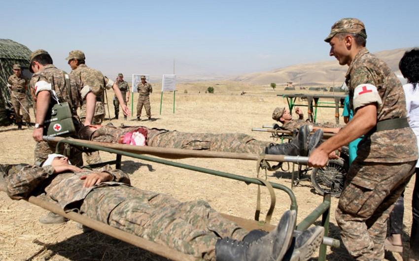 В одном из подразделений армянской армии, дислоцированных в Нагорном Карабахе, произошла перестрелка, ранены офицер и солдат