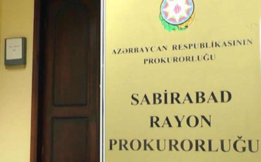 Prokurorluq Sabirabadda üç nəfərin ölümü ilə bağlı açıqlama yayıb