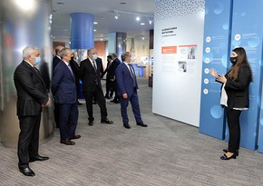 SOCAR-da Vizualizasiya Mərkəzinin açılışı olub