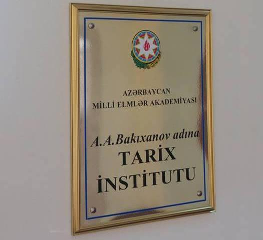 AMEA-nın Tarix İnstitutunda yeni şöbə yaradılıb