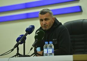 Qurban Qurbanov: Bəzi oyunlarda çətinlik çəkirik