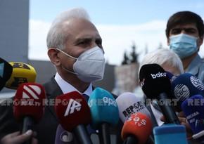 """Viktor Qasımov: """"Sputnik V"""" yüksək effektliliyə malikdir"""""""