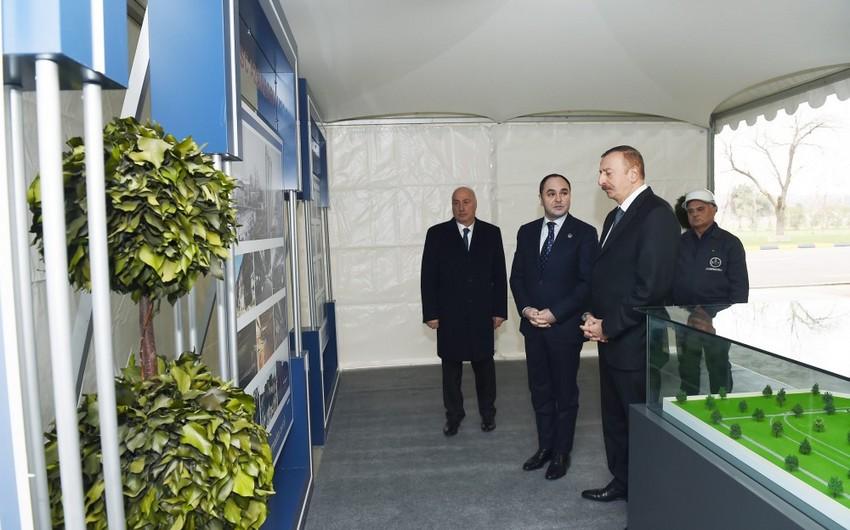 """Prezident İlham Əliyev """"Baku Steel Company"""" MMC-nin Sumqayıt boruyayma zavodunun açılışında iştirak edib"""