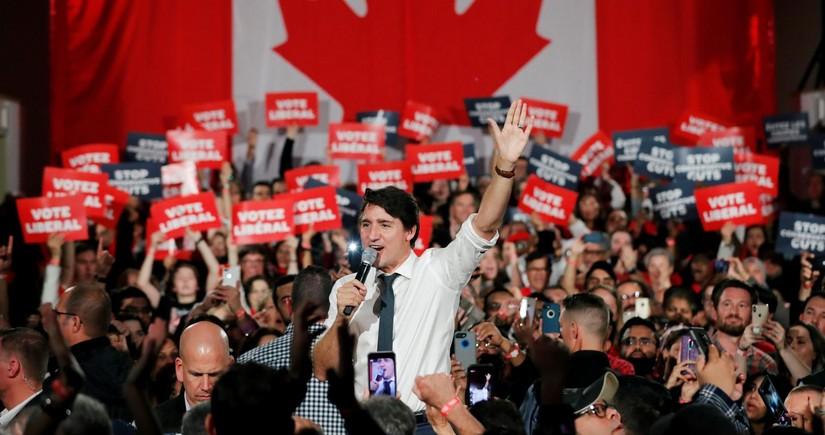 Kanadanın hakim partiyası növbədənkənar parlament seçkilərində qalib olub