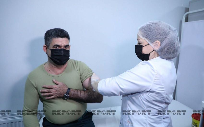 DSX əməkdaşlarının vaksinasiyasına başlanılıb - VİDEO - YENİLƏNİB