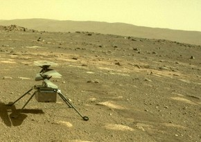 """""""Ingenuity"""" helikopteri Marsda yeni əraziyə ilk uçuş edib"""