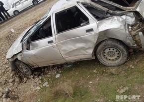 Водитель получил тяжелое ранение в аварии