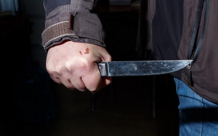 Bakıda 38 yaşlı kişi bıçaqlandı