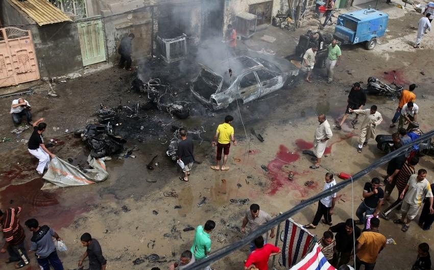 Bağdadda iki partlayış nəticəsində 12 nəfər ölüb
