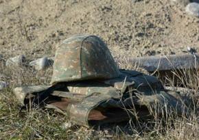 Ermənistanda itkin düşən hərbçilərdən biri ölüb