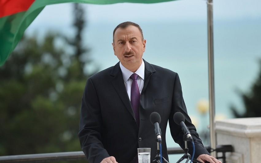 Prezident İlham Əliyev Belçikanın baş nazirinə baş sağlığı verib