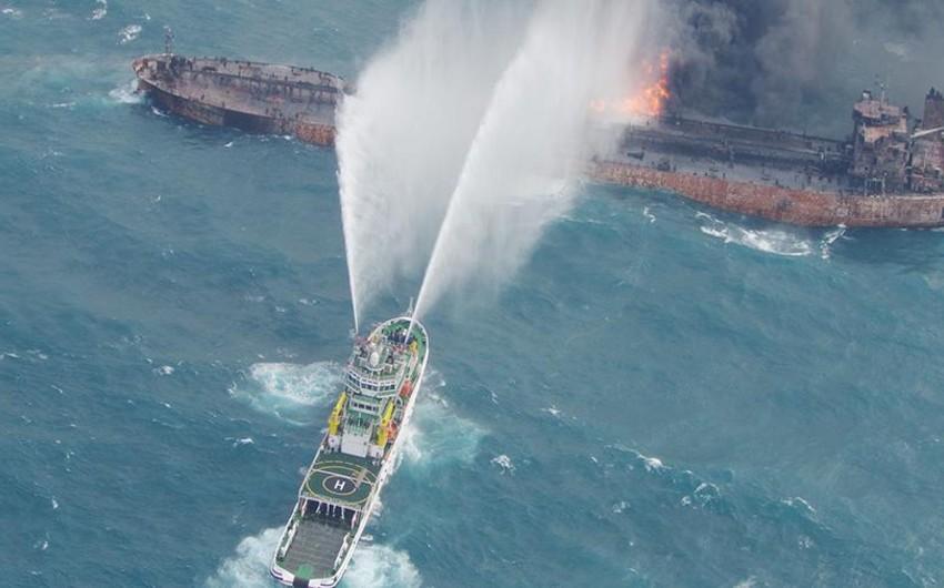 Çin sahillərində yanan İran tankeri batıb, 32 nəfərdən ibarət heyət üzvü ölüb - YENİLƏNİB