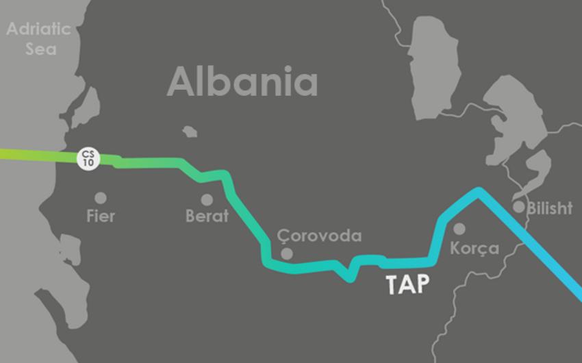 Albaniya hökuməti TAP üçün yeni ərazilər ayırıb