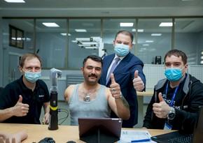 Qazi Sahil Həsənli yüksək texnologiyalı protezlə təmin ediləcək
