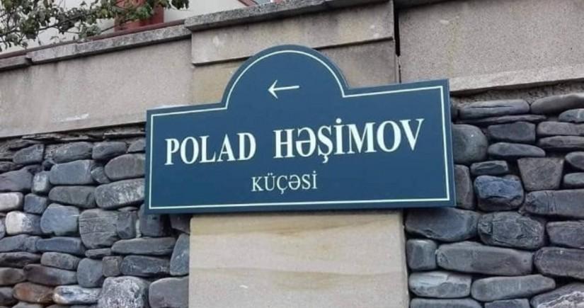 İcra hakimiyyəti general Polad Həşimov küçəsi ilə bağlı məsələyə aydınlıq gətirdi
