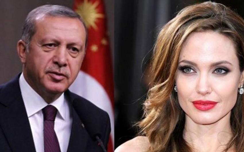 Türkiyə prezidenti ilə Ancelina Coli qaçqın düşərgəsinə birlikdə baş çəkəcək