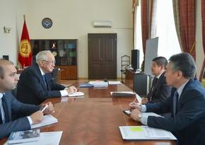 Председатель Кабмина Кыргызстана принял посла Азербайджана