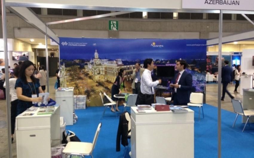 Azərbaycan Yaponiyada keçirilən beynəlxalq turizm sərgisində iştirak edir
