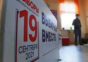 """""""Exit poll"""": Vahid Rusiya Partiyası parlament seçkilərində 45,2 % səs toplayıb"""