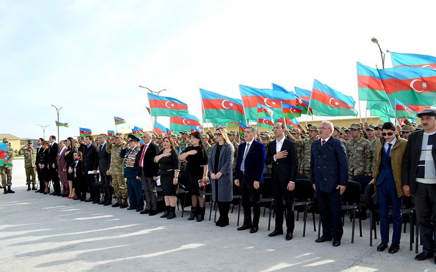 Members of the public visit soldiers