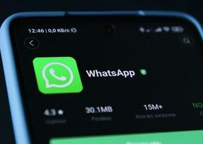 """WhatsApp""dan yeni funksiya gəlir"