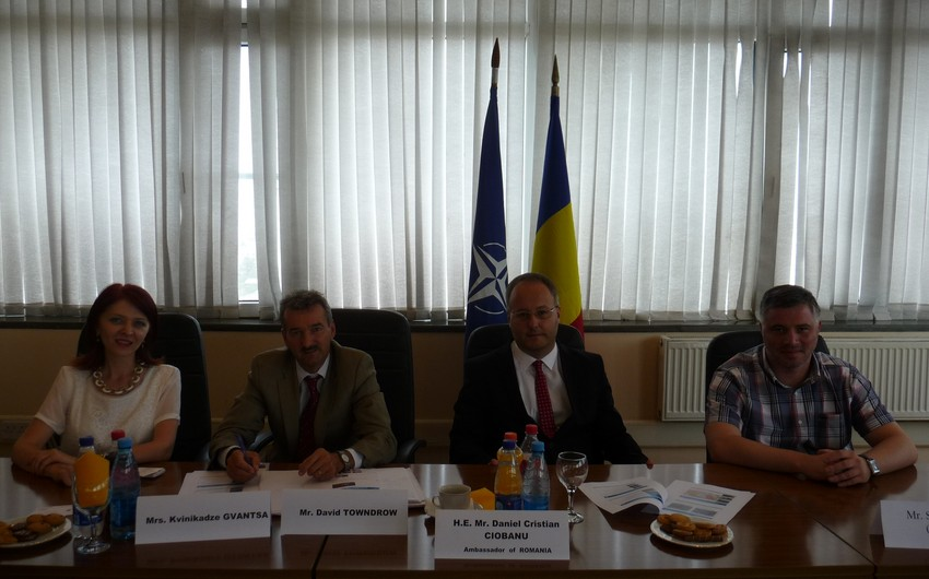 "Embassy of Romania organized a roundtable on ""Jeyranchel Clearance Project: current situation and perspectives"""