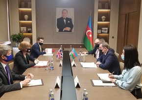 Azerbaijani FM meets with UK Minister for European Neighbourhood and Americas