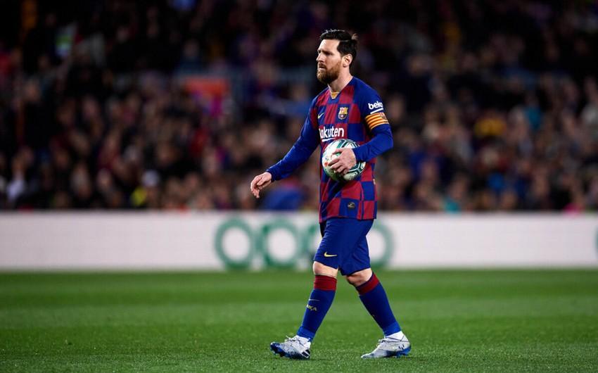 Messi yeni rekorda imza atdı -